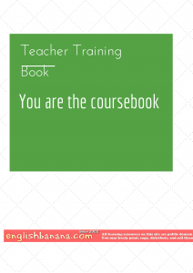 You are the Coursebook