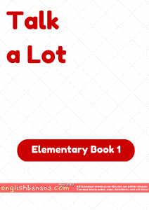 Talk a Lot – Elementary Book 1