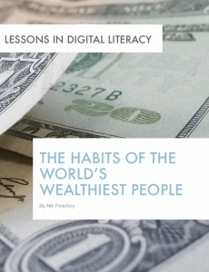 Preview The Habits of the World's Wealthiest People – Lessons in Digital Literacy