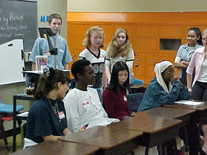 WELCOME CENTER STUDENTS SHARE THEIR STORIES