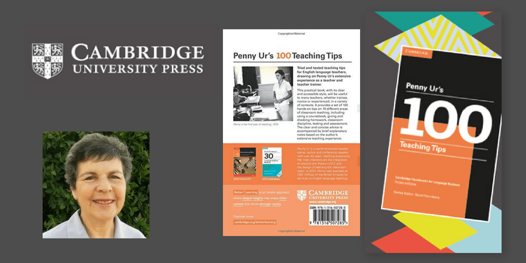 Penny Ur : 100 Teaching Tips - Book Review