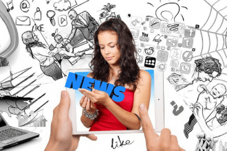 Online News Stories: A place for Autonomy and Language Development