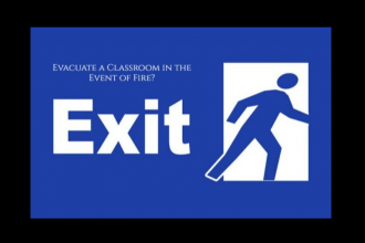 How to Evacuate a Classroom in the Event of Fire
