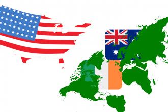AMERICAN, BRITISH, AND EURO-ENGLISH