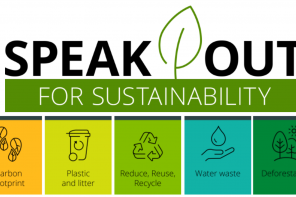 Speak Out for Sustainability