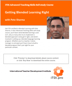 Getting Blended Learning Right